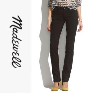 Madewell Rail Straight Black Jeans